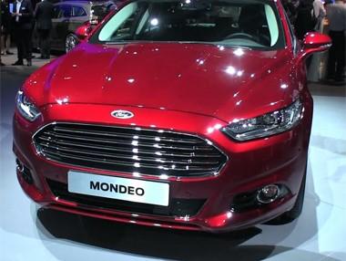 Vídeo: Ford Mondeo en el Salón de París