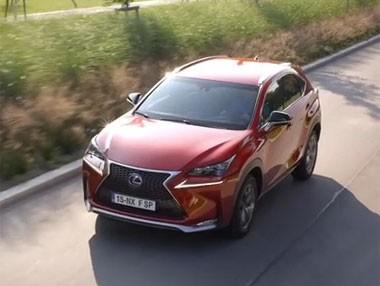 Vídeo: Lexus NX 300h, en movimiento