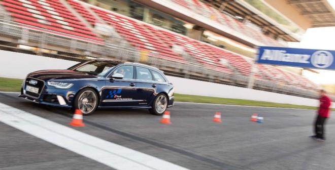 La frenada de emergencia es una de las actividades más útiles que realizarás en la versión Sportcar del Audi Driving Experience.