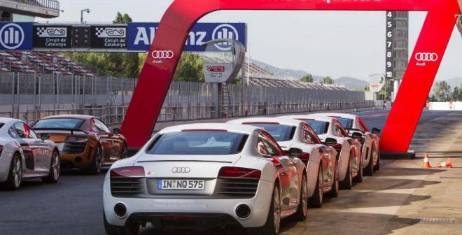 La impaciencia te consume cuando sabes que vas a poder rodar en un circuito con un Audi R8.