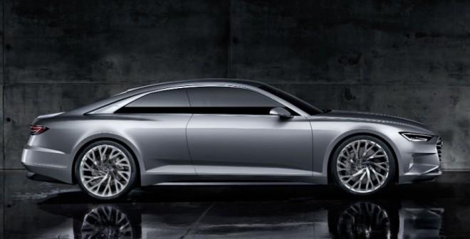 Elegante y deportiva, así es la silueta del Audi Prologue.