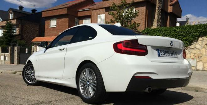 El BMW 220i Coupé es el deportivo perfecto para un conductor joven.