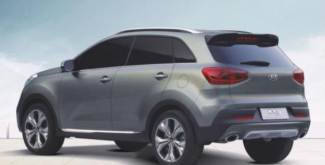 El Kia KX3 Concept llegará en exclusiva al mercado chino.