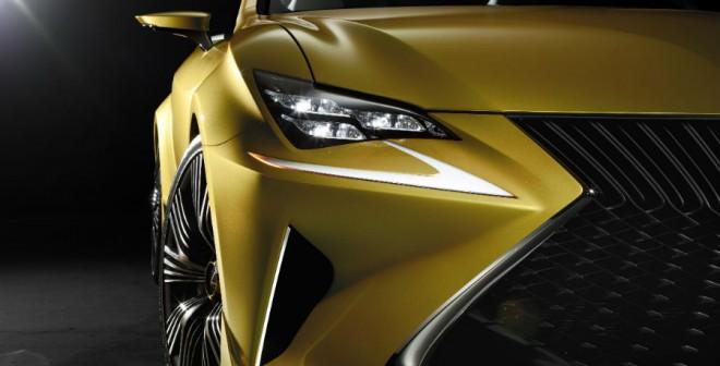 El Lexus LF-C2 Concept es agresividad en estado puro.
