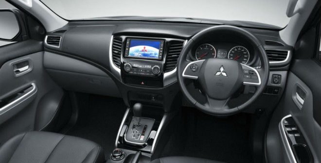 Así es el interior del nuevo Mitsubishi L200.