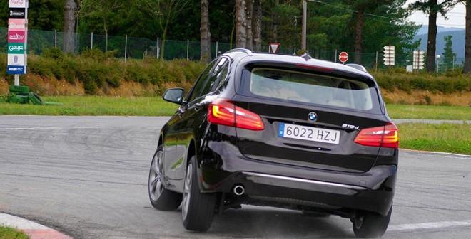 Prueba nuevo BMW 218d Active Tourer 2014, A Pastoriza, Rubén Fidalgo
