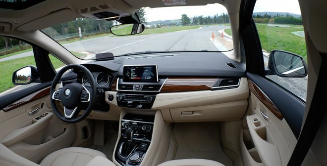 Prueba nuevo BMW 218d Active Tourer 2014, Interior, Rubén Fidalgo