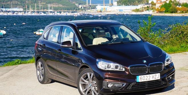 Prueba nuevo BMW 218d Active Tourer 2014, Chapela, Rubén Fidalgo