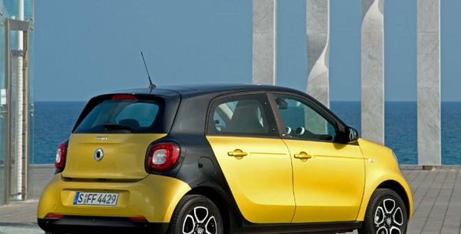 El Smart ForFour es un coche cuyo diseño aporta personalidad.