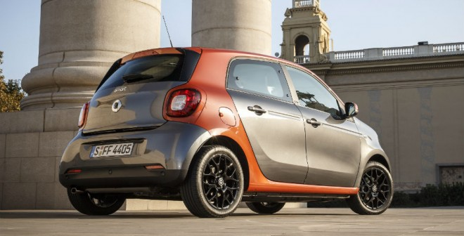 El precio de partida del Smart ForFour es de 12.500 euros.