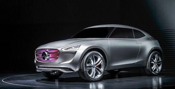 Mercedes Vision G-Code: el concept para el mercado asiático