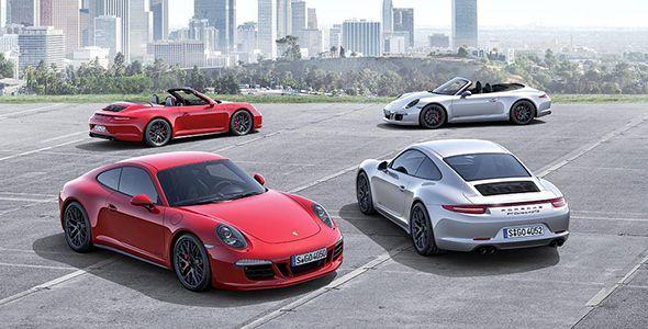 El nuevo Porsche 911 Carrera GTS, en el Salón de Los Ángeles 2014