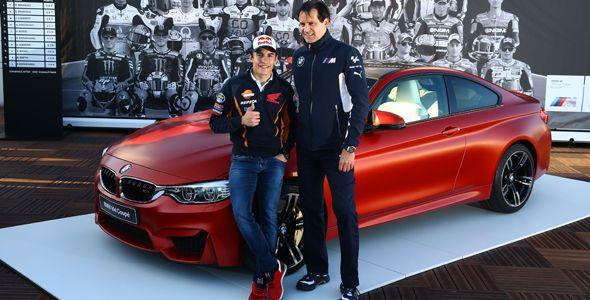 Marc Márquez gana por segundo año el exclusivo BMW M4 Coupé