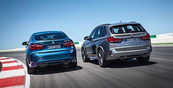 Los BMW X5 M y X6 M, primicias en el Salón de Los Ángeles 2014