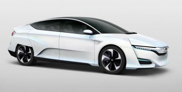Honda FCV Concept, llega en 2016