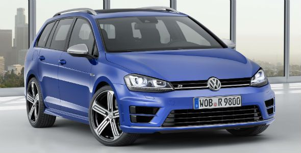 Volkswagen Golf R Variant, un familiar de 300 CV