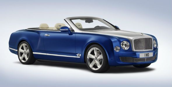 Bentley Grand Convertible: lujo descapotable en Los Ángeles
