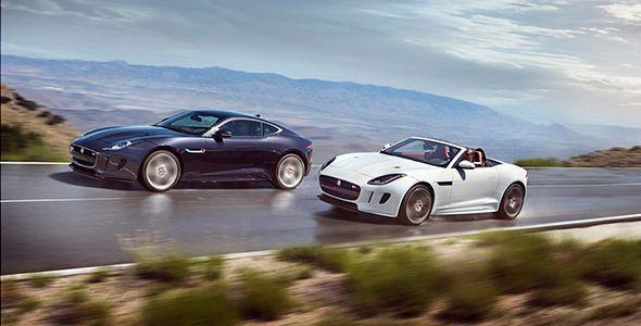 Nuevo Jaguar F-Type 2015 con tracción integral y cambio manual