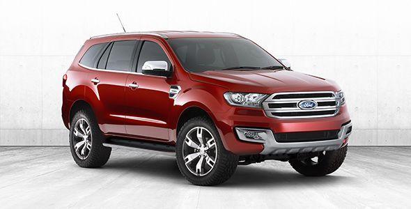 El nuevo Ford Everest se presenta en el Salón de Guangzhou 2014