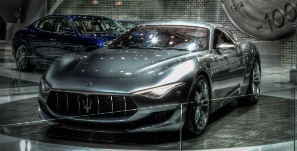Maserati en el Salón de Los Ángeles