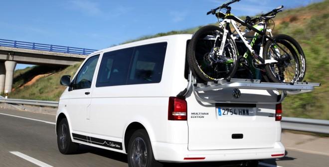 El Volkswagen Multivan refuerza la funcionalidad de la familia T5.