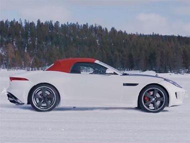 La tracción total y la caja manual del Jaguar F-Type en vídeo