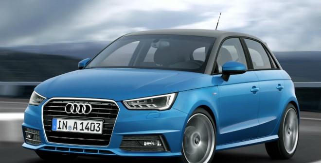 El color del techo del Audi A1 Sportback es totalmente personalizable.