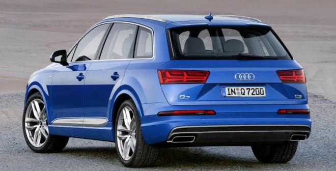 La imagen del Audi Q7 cambia radicalmente en esta segunda generación.