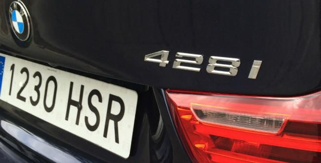 El consumo real de combustible del BMW 428i es de 8,8 l/100 km.
