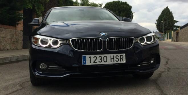 El frontal del BMW 428i aporta personalidad al conjunto.