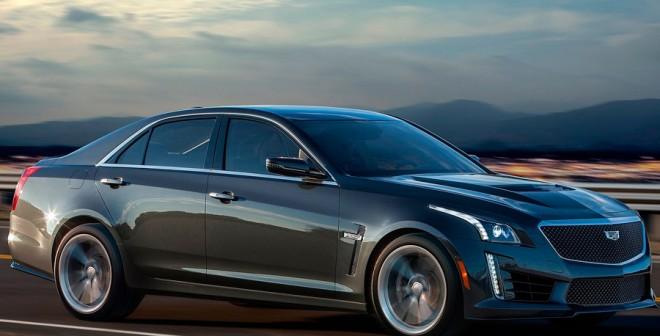 Cadillac CTS-V dinámica