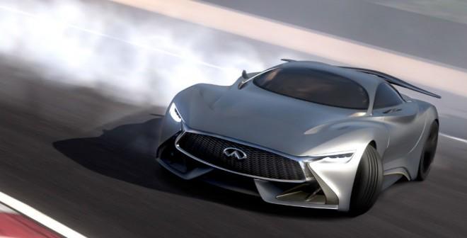 Ningún Guardia Civil te dirá nada si haces esto con el Infiniti Concept Vision Gran Turismo.