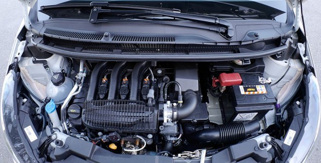 Peugeot 108 Top! Puretech 82 CV 2014, motor, Rubén Fidalgo