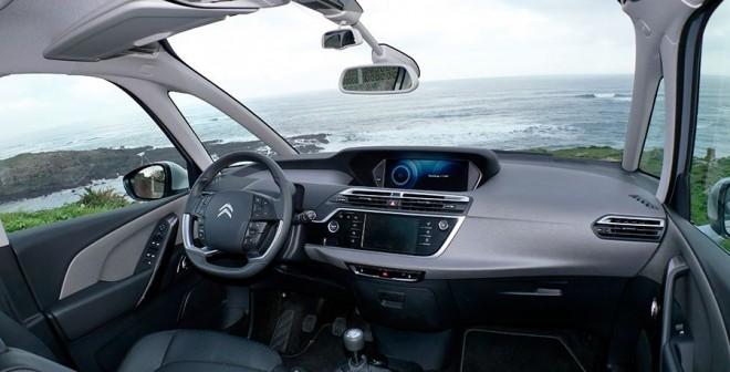 Prueba Citroën C4 Picasso 1.6 HDi 115 CV manual 2014, interior, Rubén Fidalgo