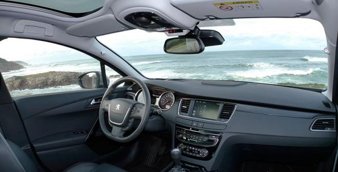 Prueba Peugeot 508 SW BlueHDi 150 CV Allure 2014, interior, Rubén Fidalgo