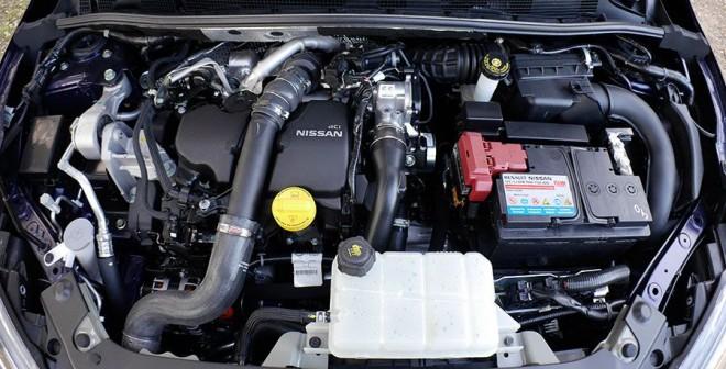 Prueba del Nissan Pulsar dCi 110 CV 2014, motor, Rubén Fidalgo