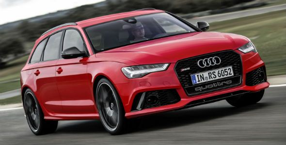 Audi RS6 Avant, un familiar de 560 CV