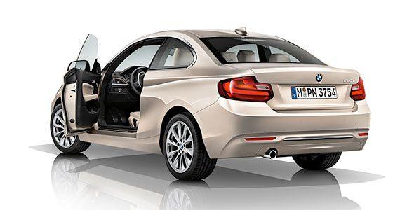 Nuevo BMW 218i de tres cilindros