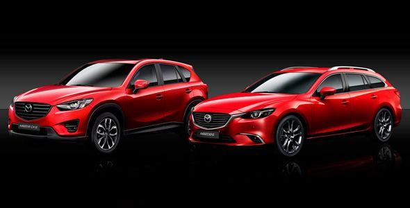 Mazda 6 y Mazda CX-5  se renuevan de cara a 2015