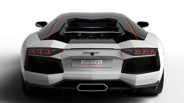 Lamborghini  Aventador LP 700-4 Edición Pirelli, nueva serie especial