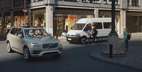 Volvo conecta a conductores y ciclistas