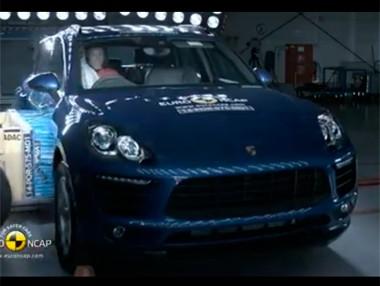 Vídeo: Porsche Macan, test Euro NCAP