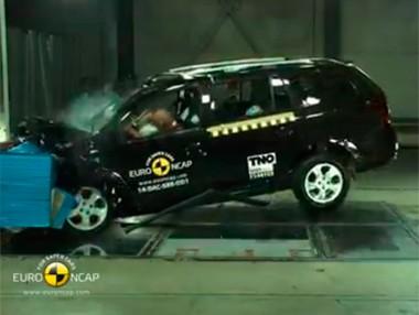 Vídeo: Dacia Logan MCV, test Euro NCAP