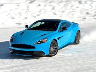 Aston Martin on ice 2015