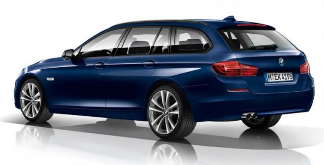 La Edition Sport de la Serie 5 de BMW está disponible tanto en carrocería Sedán como Touring.