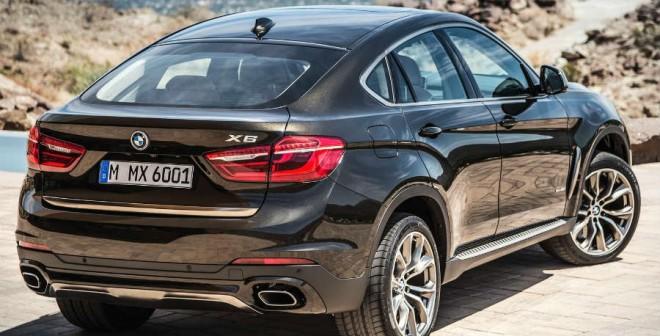 Hasta cinco motores diferentes, a la espera del X6 M, puede equipar el nuevo BMW X6.