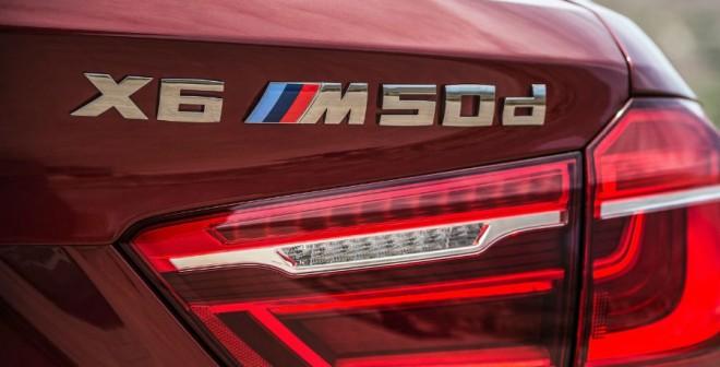El motor diésel del BMW X6 M50d es una auténtica delicia.