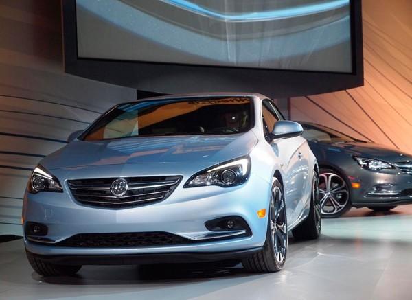 Buick Cascada Salón Detroit 2015