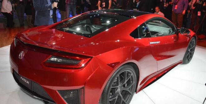 El Honda NSX es uno de los modelos más admirados del Salón de Detroit.