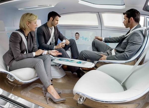 Mercedes F 015 Luxury in Motion en el CES de Las Vegas 2015